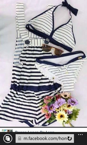 swimwear blue