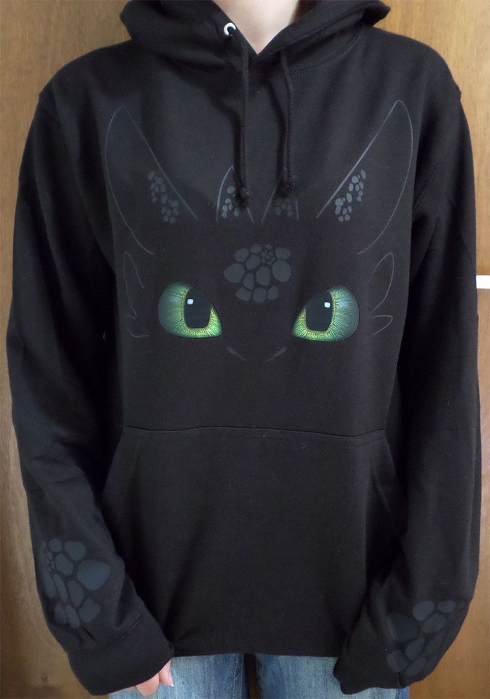 Toothless How to Train your Dragon Night Fury Adults Hoodie