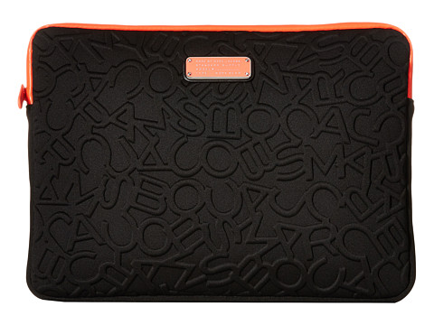 Marc by Marc Jacobs Scrambled Logo Neoprene Tech 13 Computer Case
