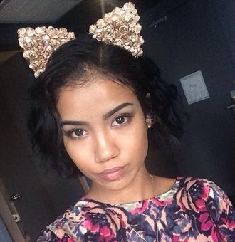 hair accessory headband cat ears