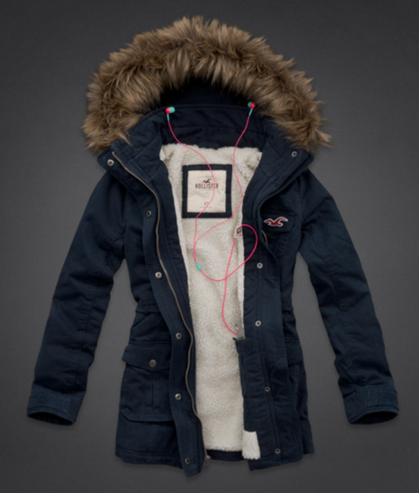 hollister long jacket