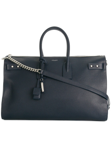 Saint Laurent - Sac de Jour duffle bag - women - Leather - One Size, Blue, Leather