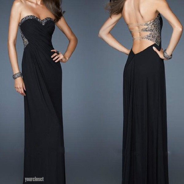 dress black sparkle