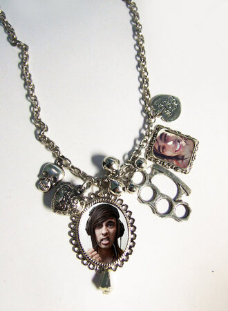 jewels band necklace pierce the veil band merch