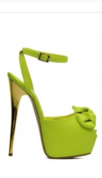 shoes neon yellow heels neon yellow heels coat winter coat green coat fur hood