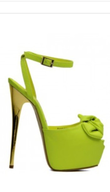 shoes neon yellow heels neon yellow heels