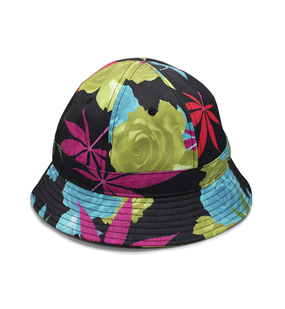 Black Scale – 420 LEAVES BUCKET HAT