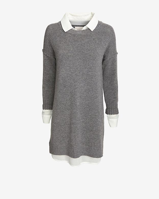 Brochu Walker EXCLUSIVE Blouse Sweater Dress | Shop IntermixOnline.com