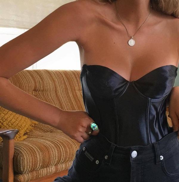 top black corset