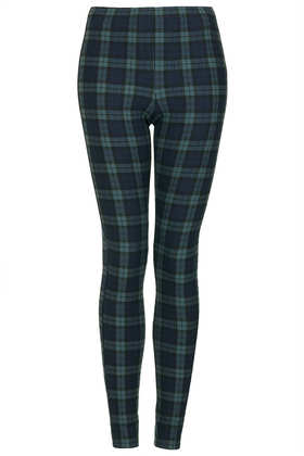 Blackwatch Check Leggings - New In This Week  - New In  - Topshop