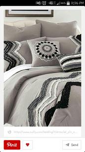 pajamas,bedding,grey,neutral,chevron,zig zag