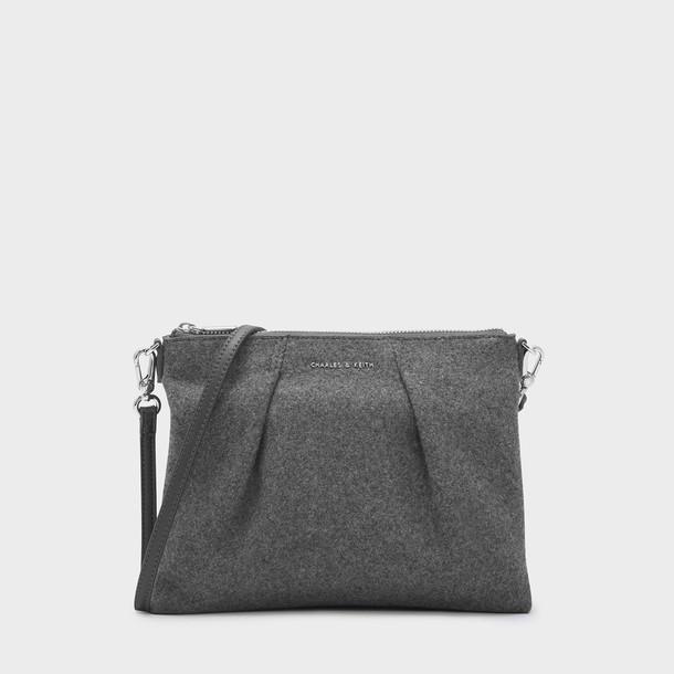 zip bag grey