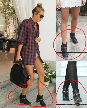 shoes boots miley cyrus black silver heeled booties jacket