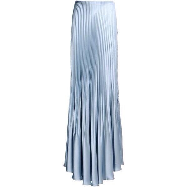 skirt blue long maxi skirt cute