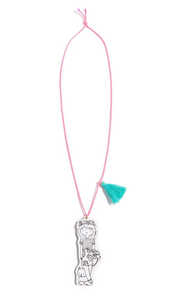 Gift Boutique Gunner & Lux Mini Fashionista Necklace in multi