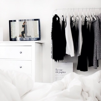 home accessory closet hipster