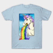 shirt,puke,blue,unicorn,rainbow,frame,horse,neck,internet,fashion,humanshirt,clothes,set,pajamas,diy