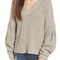 Madewell pleat sleeve pullover sweater | nordstrom