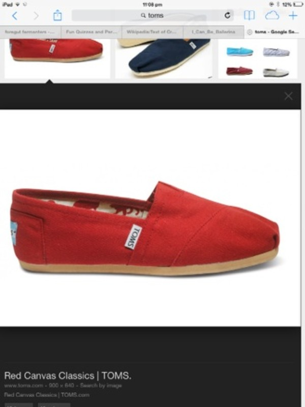 shoes funny red toms celebs celebs fav style designer