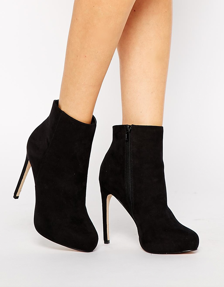 Asos early bird ankle boots at asos.com