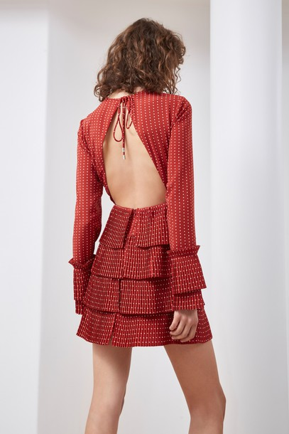 C/MEO COLLECTIVE dress red
