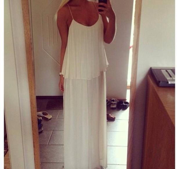 dress white white dress summer
