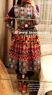 dress,afghanistan fashion,afghan silver,afghan pendant,afghan,afghan sweater,afghan tassel necklace,afghanstyle,afghanistan