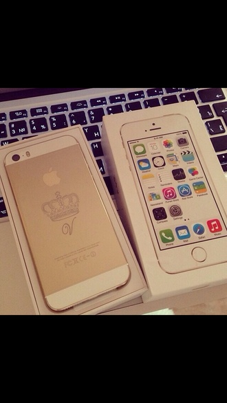 jewels princess gold iphone 5s royalty queen customize engraved