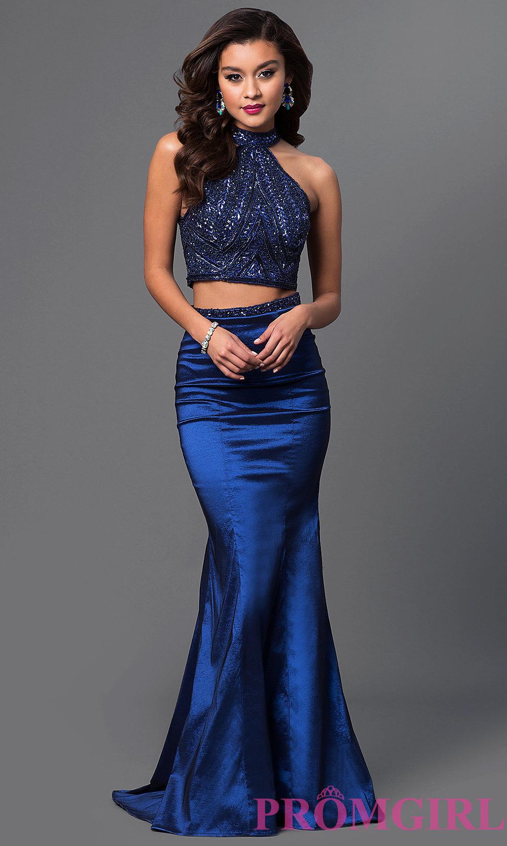 7344b74646 Long Halter To Prom Dresses - Plus Size Prom Dresses