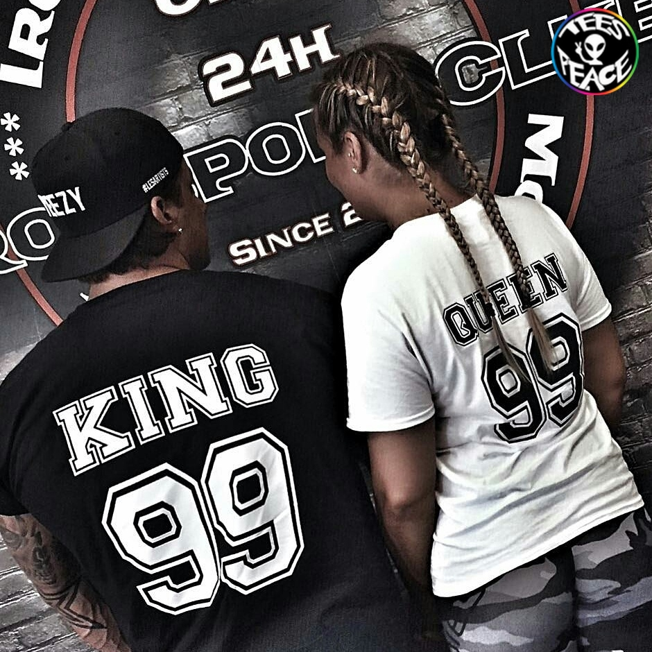 KING QUEEN 99 – TEES2PEACE