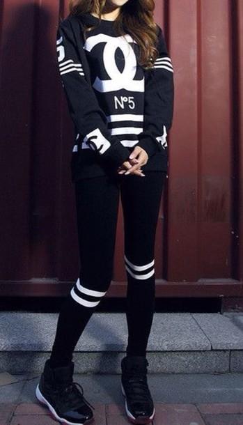 top sweatshirt pants