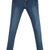 ROMWE | Zippered Slim Blue Denim Pants, The Latest Street Fashion