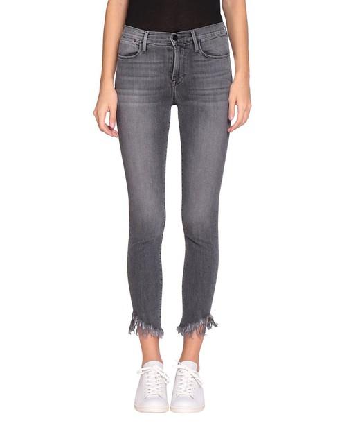 FRAME jeans skinny jeans denim high cotton