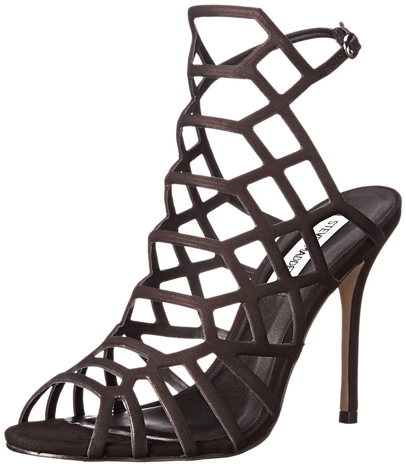 242957611d Amazon.com | Steve Madden Women's Slithur Dress Sandal | Heeled Sandals