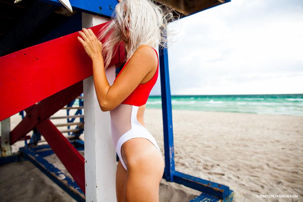 Minimale Animale Cutout Swimsuit Bikini BO Mesh Body Contrast Summer NastyGal UO   eBay