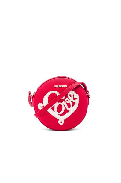 LOVE MOSCHINO heart love red