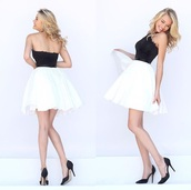 dress,with black lace top and white dress,white,black,homecoming,passions for fashion,blogger,jacket,pants,top