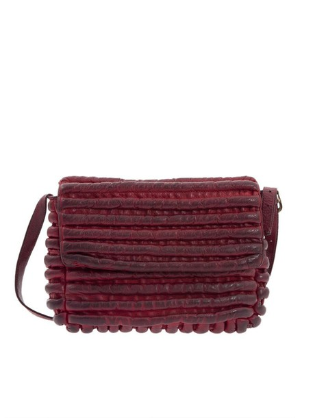 Majo bag leather bag leather red