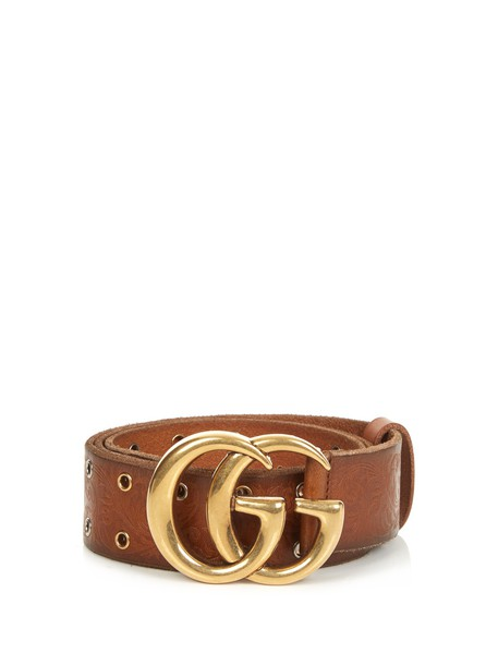 belt leather tan
