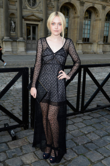 dakota fanning dress