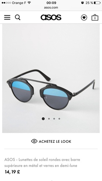 sunglasses round sunglasses black sunglasses mirrored sunglasses