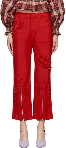 MOLLY GODDARD red pants