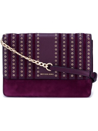 women brooklyn bag crossbody bag purple pink