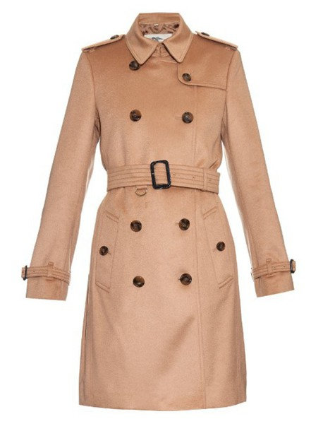 Burberry London coat trench coat long camel