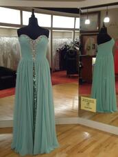dress,sequin dress,mint dress,chiffon,prom dress,Mori Lee