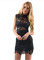 2015 new women lace with high collar sleeveless dress 017 · foreverfashion · online store powered by storenvy