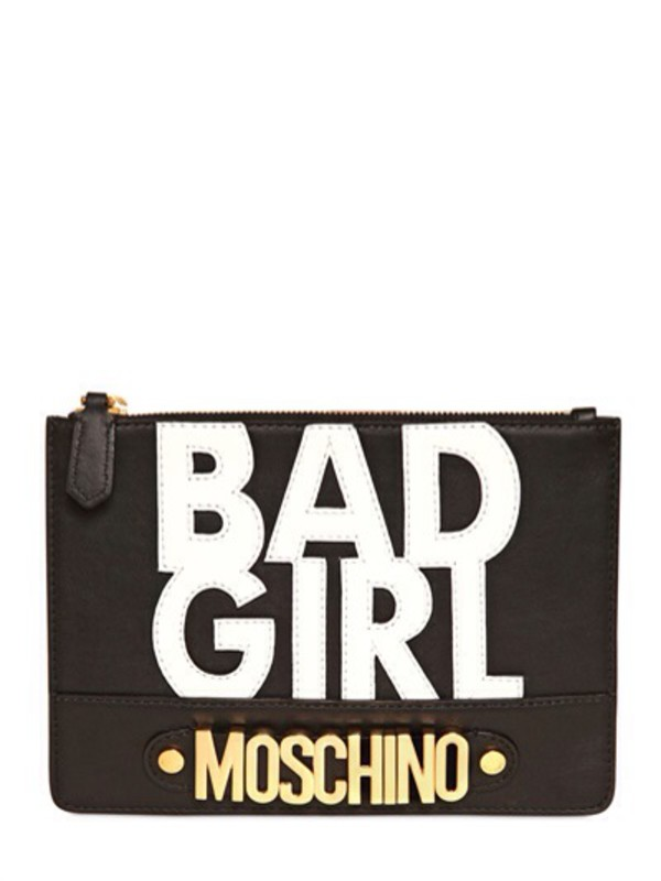 bag moschino bad girls club baddies clutch