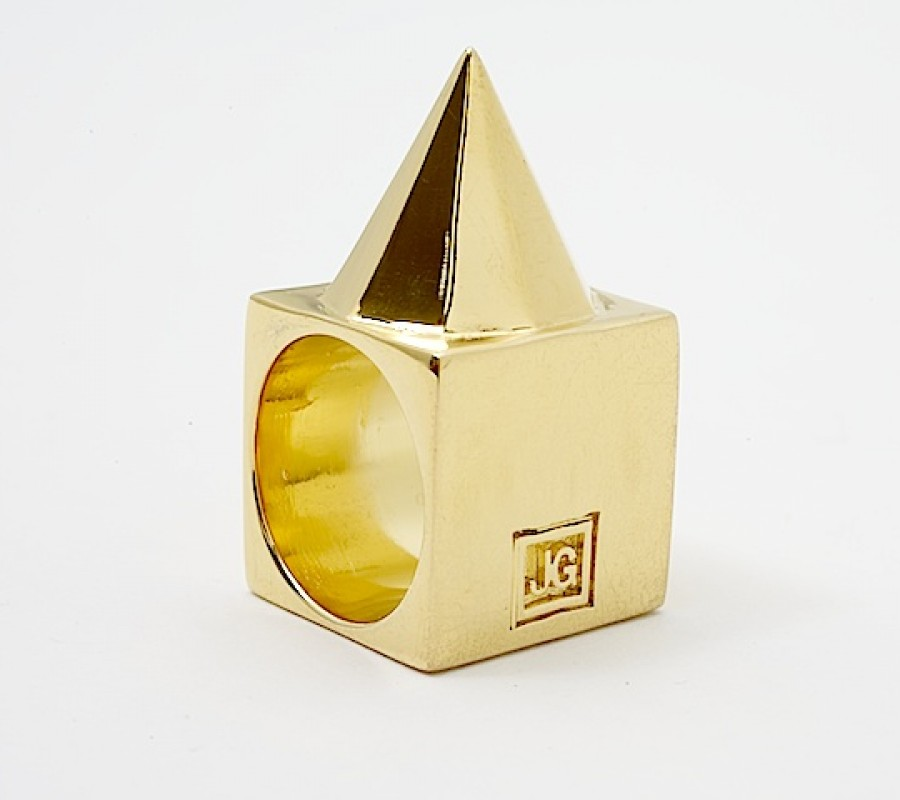 Juju gold » spike ring