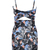 Multicolor Spaghetti Strap Cut Out Floral Bodycon Dress - Choies.com