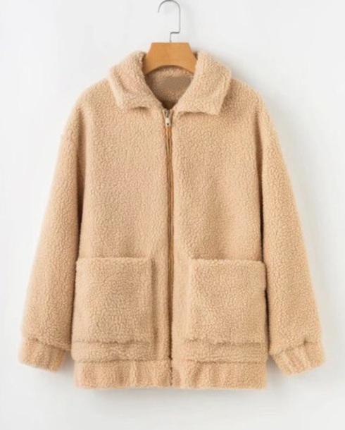 coat girly zip zip-up zip up jacket fur fur coat fur jacket faux fur faux fur jacket faux fur coat teddy teddy jacket